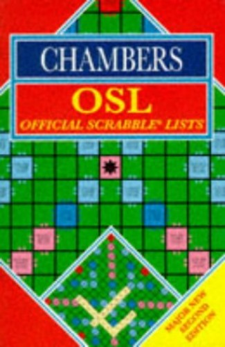 Chambers Official Scrabble Lists By Darryl Francis