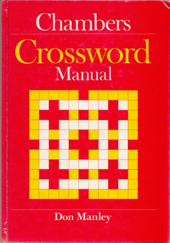 Chambers Crossword Manual By Don Manley