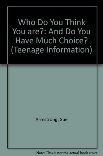 Who Do You Think You are? By Sue Armstrong