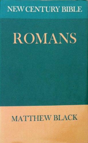Romans By Matthew Black