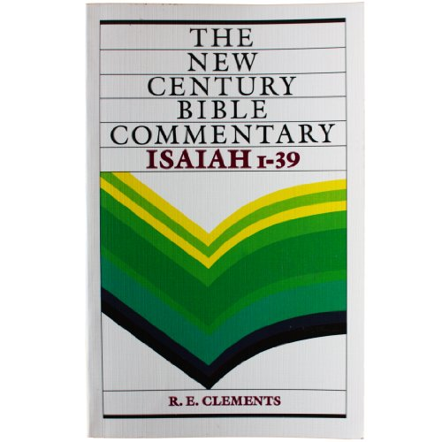 Isaiah 1-39 By R. E. Clements