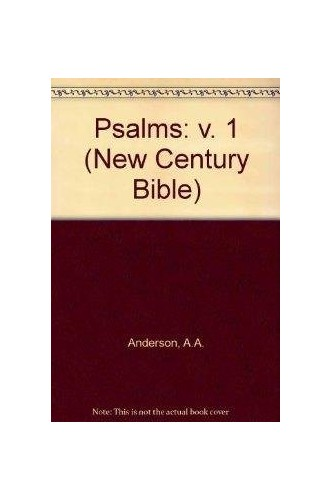 Psalms By A.A. Anderson