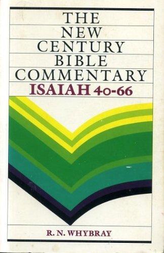 Isaiah 40-66 By R. N. Whybray