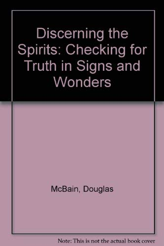 Discerning the Spirits By Douglas McBain