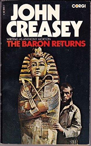 Baron Returns By Anthony Morton