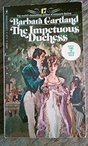 Impetuous Duchess By Barbara Cartland