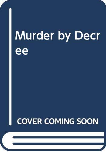 Murder by Decree By Robert Weverka