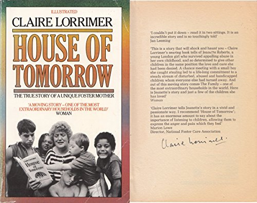House of Tomorrow By Claire Lorrimer