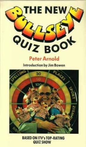 "New ""Bullseye"" Quiz Book By Peter Arnold"