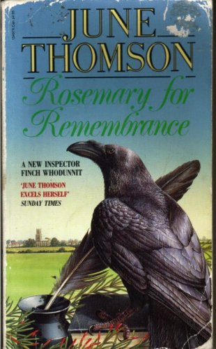 Rosemary for Remembrance By June Thomson