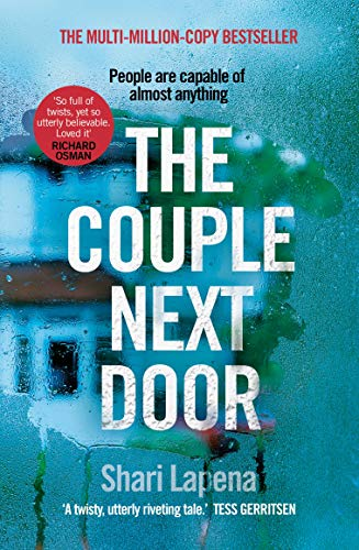 The Couple Next Door By Shari Lapena Used Very Good