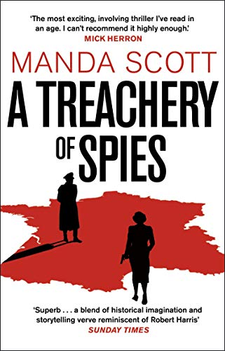A Treachery of Spies By Manda Scott
