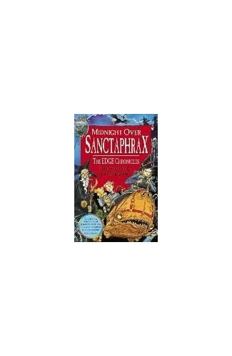 Midnight Over Sanctaphrax By Paul Stewart