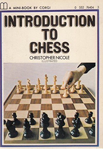Introduction to Chess (Mini Books) By Christopher Nicole