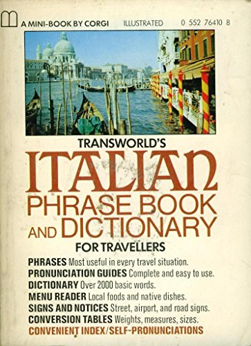 Italian Phrase Book and Dictionary By Charles A. Hughes
