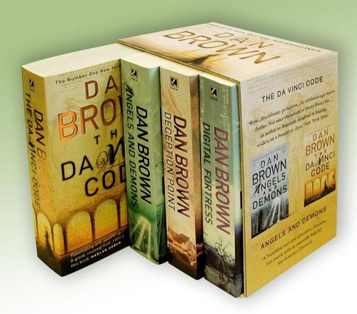 "Dan Brown Boxed Set: ""Digital Fortress"", ""Deception Point"", ""Angels and Demons"", ""The Da Vinci Code"" by Dan Brown"