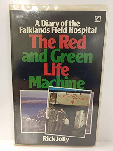 Red and Green Life Machine By Rick Jolly