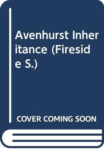 Avenhurst Inheritance By Sylvia Thorpe
