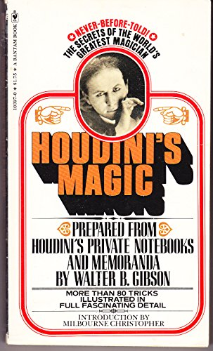 Houdini's Magic by Walter B. Gibson