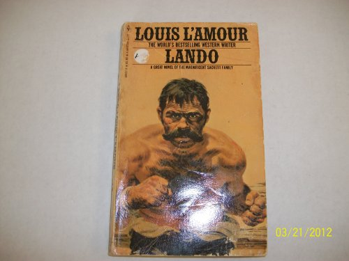 LANDO (SACKETTS) By LOUIS L'AMOUR