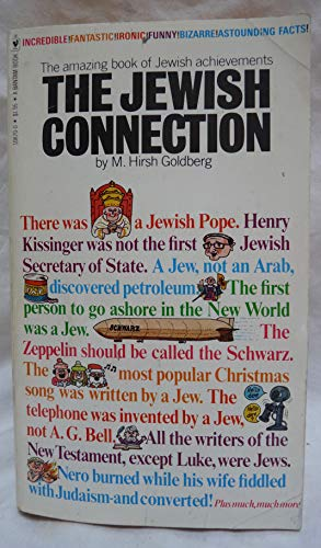 Jewish Connection By M.Hirsh Goldberg