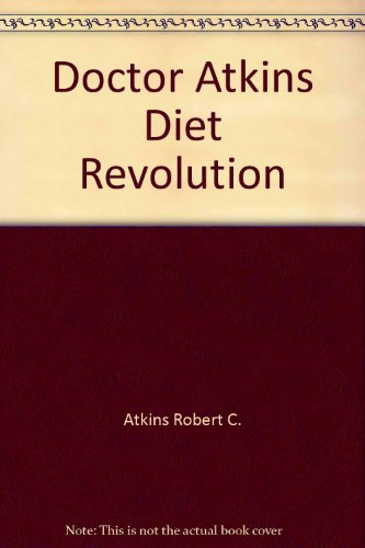 Dr Atkins Diet Revolution By Robert Atkins