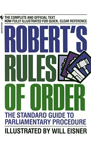 Roberts Rules Of Order By Will Eisner