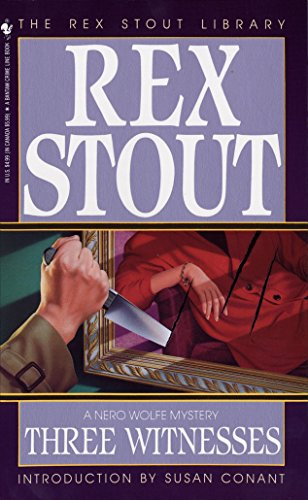 Three Witnesses By Rex Stout