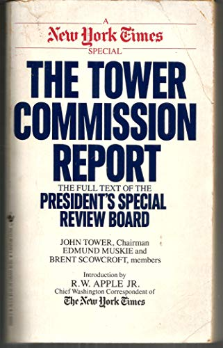 The Tower Commission Report By John Tower