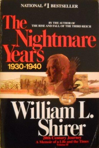 Twentieth Century Journey By William L. Shirer