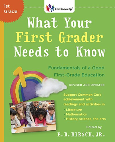 What Your First Grader Needs To Know (Revised And Updated) By E.D. Hirsch Jr.