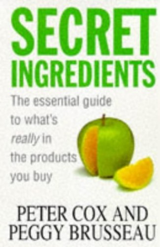 Secret Ingredients By Peter Cox