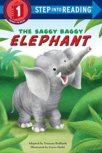 The Saggy Baggy Elephant Step into Reading Lvl 1 By Tennant Redbank