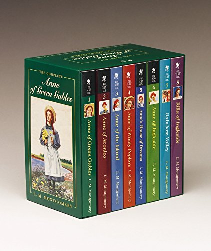 Anne of Green Gables, Complete 8-Book Box Set von L. M. Montgomery