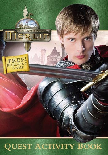 """""""Merlin"""" Quest Activity Book By Various"""