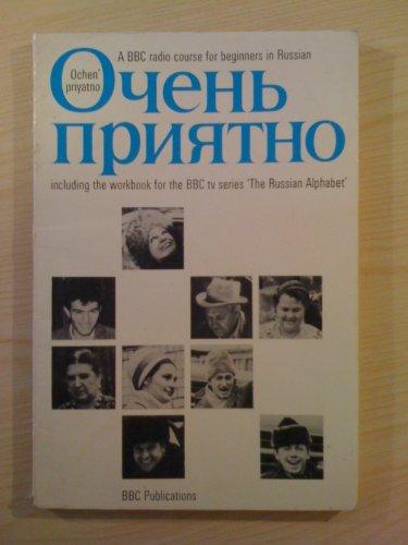 Ochen' Priyatno: Beginner's Russian By Michael Frewin