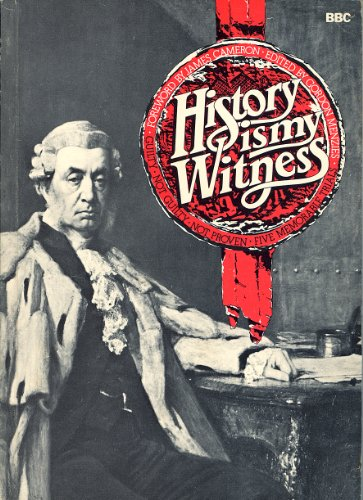 History is My Witness By Edited by Gordon Menzies