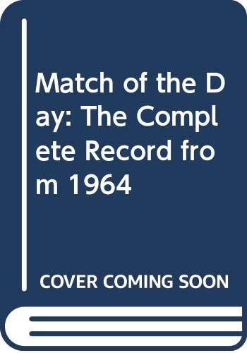 """Match of the Day"" By Edited by John Motson"