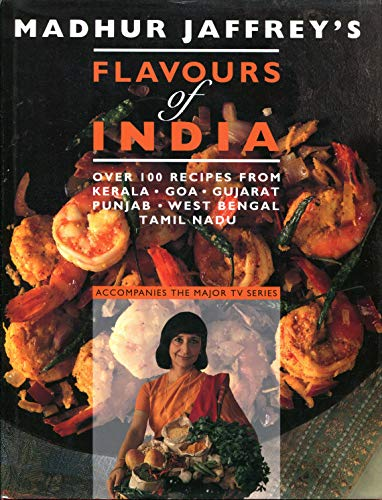 Flavours-of-India-by-Jaffrey-Madhur-Hardback-Book-The-Cheap-Fast-Free-Post