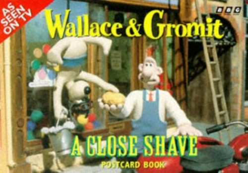 Wallace and Gromit: A Close Shave Postcard Book By BBC