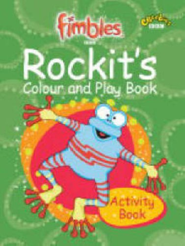 Rockit's Colour and Play Book By BBC