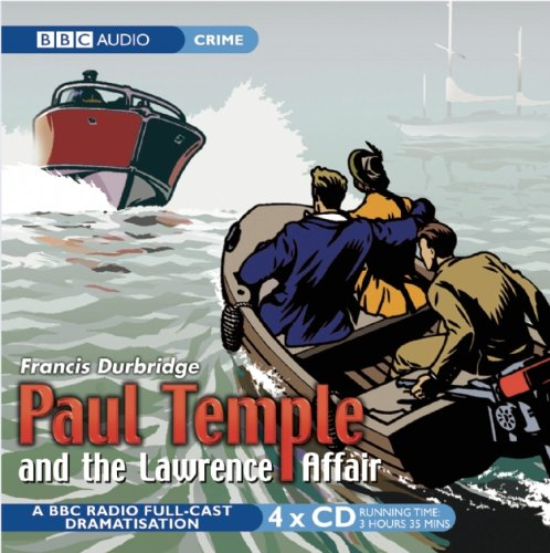 Paul Temple And The Lawrence Affair By Francis Durbridge
