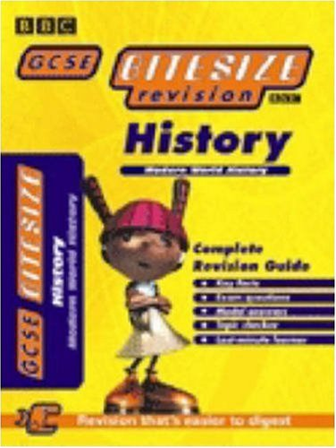 GCSE BITESIZE COMPLETE REVISION GUIDE MODERN WORLD HISTORY By Allan Todd