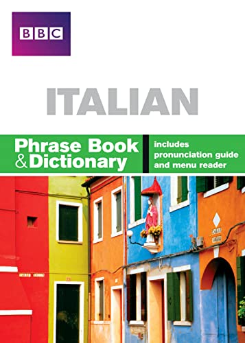 BBC ITALIAN PHRASE BOOK & DICTIONARY By Carol Stanley