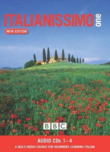 ITALIANISSIMO BEGINNERS' (NEW EDITION) CD's 1-4 By Marie Therese Bougard