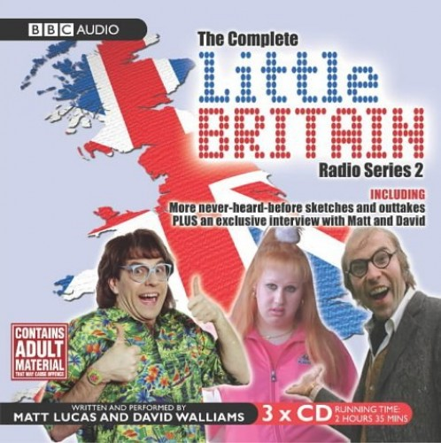 """Little Britain"" - The Complete Radio: Series 2 by David Walliams"
