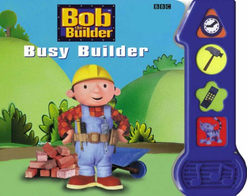 Busy Builder Sound Book By BBC
