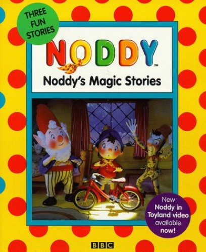Noddy 3 on 1 Book By Enid Blyton