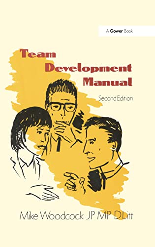Team Development Manual By Mike Woodcock