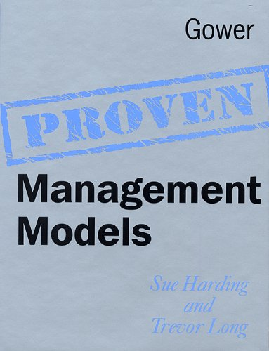 Proven Management Models By Sue Harding